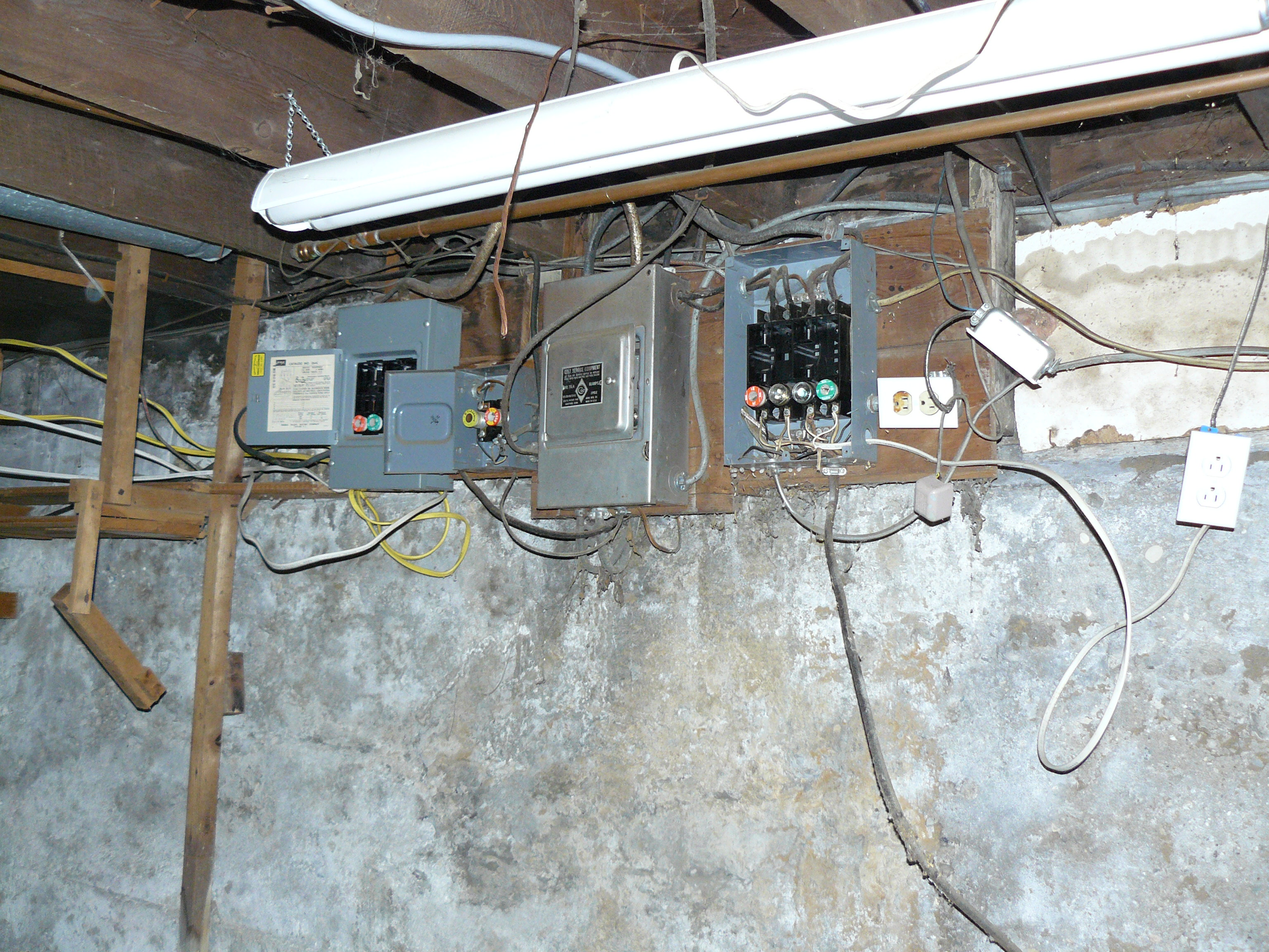 Electrical Service – Bathroom and Dining Room Remodel   Select ...