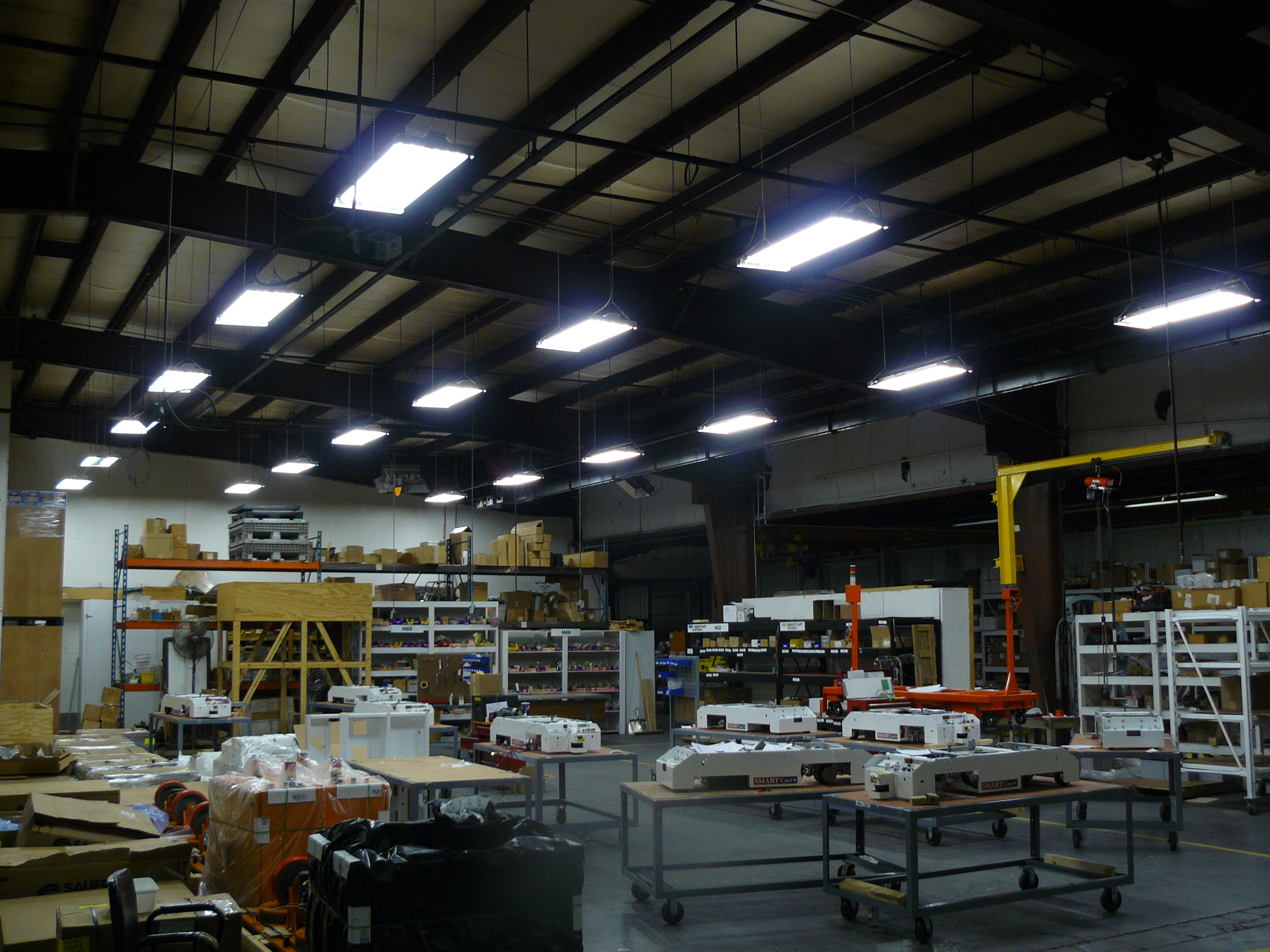 Factory Lighting Continued Select Electric Company