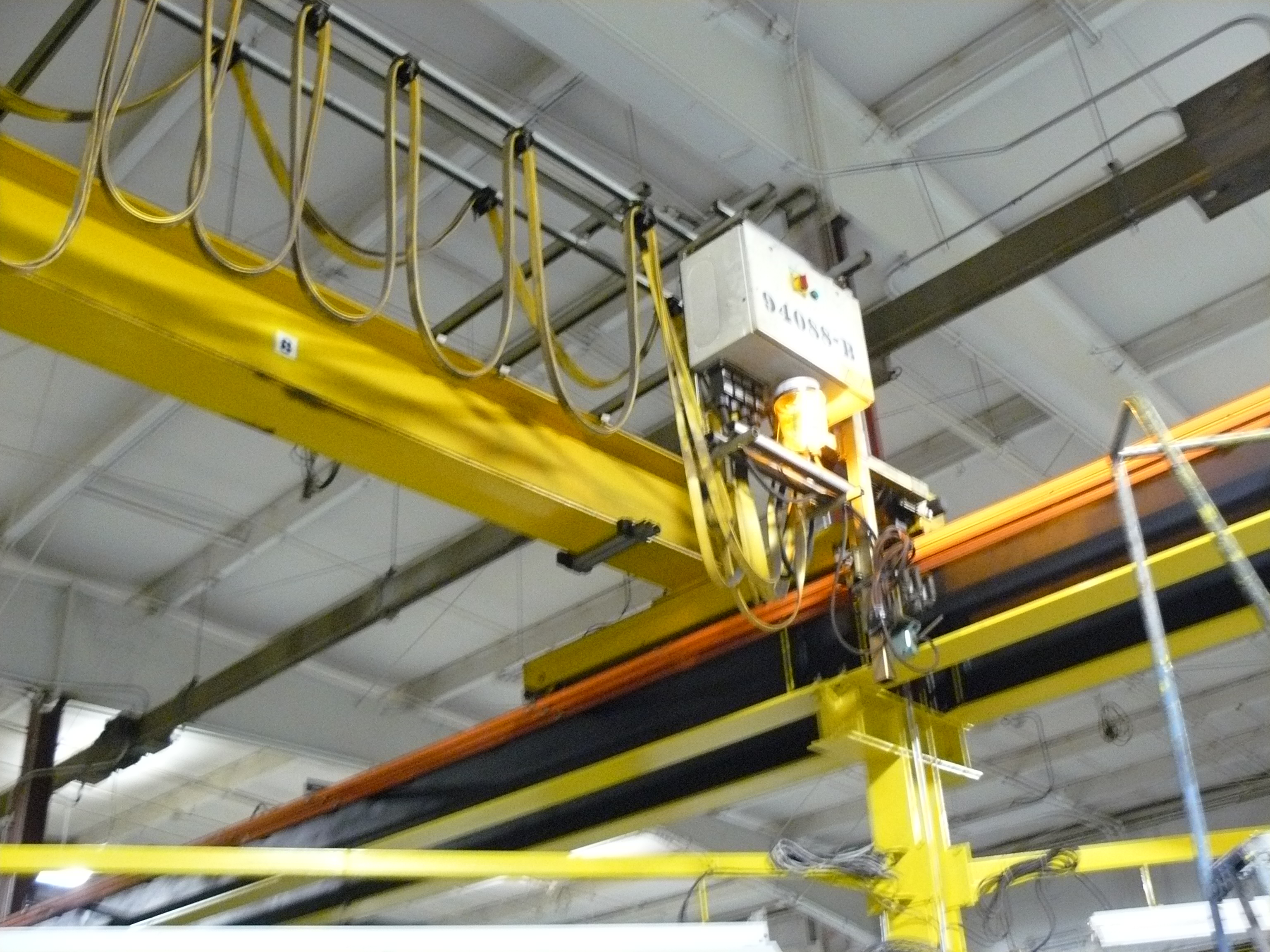 Overhead Crane Lights Led : Keeping factory workers safe select electric company